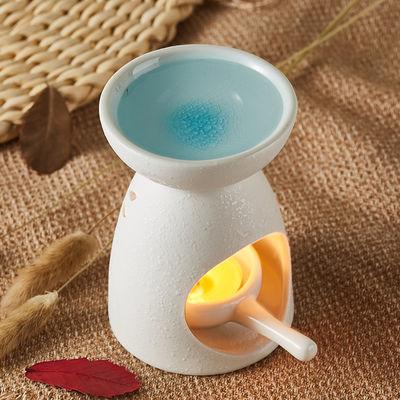 陶瓷香薰炉蜡烛浪漫精油灯家用助睡眠卧室美容院创意精油香薰灯炉