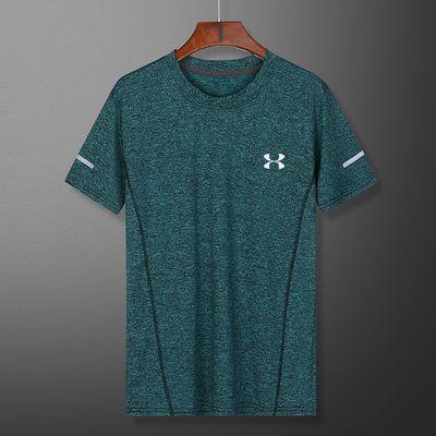 【威纳堡】夏季户外速干t恤男 运动透气吸汗圆领短袖速干衣服