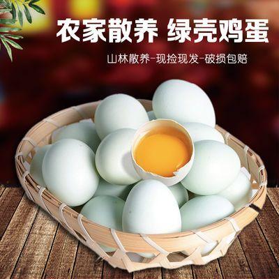 【促销】【破损包赔】40枚新鲜乌鸡蛋绿壳蛋 农村散养土鸡蛋正宗