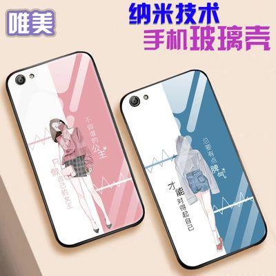 OPPOreno2z手机壳a59/a73/a11x玻璃新款女k1/k3/reno10/a77保护套