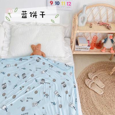 儿童空调夏凉被幼儿园午睡毛巾被可爱女童冰丝薄被宝宝吸水浴巾