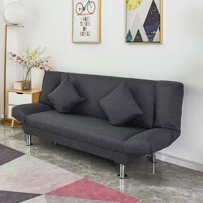 沙发床简易多功能客厅布艺懒人可折叠欧式经济小户型单双人小沙发