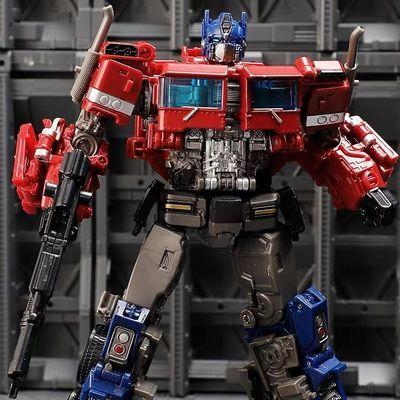 奥意变形玩具金刚SS38暗黑擎天柱合金汽车机器人模型男孩儿童玩具