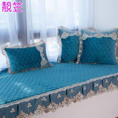 定做北欧式飘窗垫窗台垫卧室四季通用可拆洗榻榻米阳台地毯午睡垫