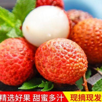 【促销】果园现摘海南妃子笑荔枝糯米糍荔枝当季新鲜水果白糖罂桂