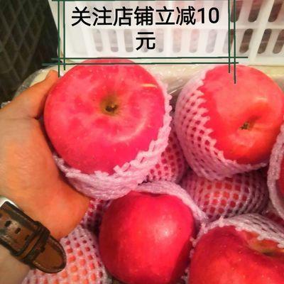 水果特级红粉佳人苹果10斤,三次选果,货图一致,直播装箱