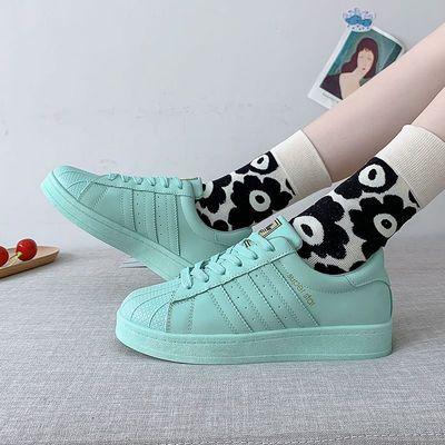 鞋子女夏季小白鞋女学生韩版百搭2020新款秋款运动ins潮休闲板鞋