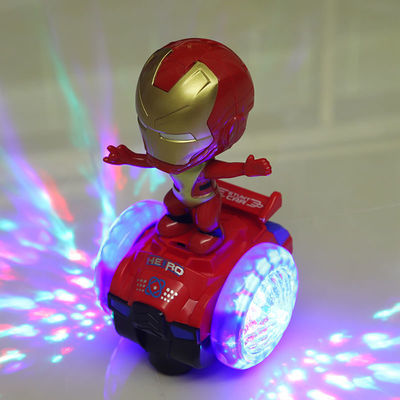 抖音玩具旋转灯光儿童平衡车遥控唱歌走路1-2-4周岁男童小孩玩具