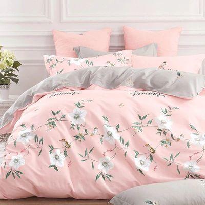 小绵羊全棉四件套简约风多色床单被套家用单双人床上用品舒适纯棉