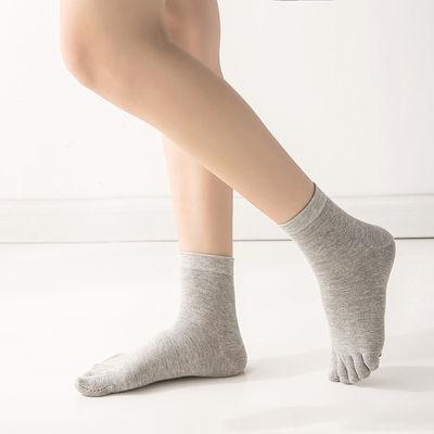 3/5双五指袜女士棉袜夏季薄款脚趾袜透气五趾袜子女分趾女棉袜