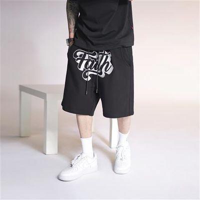 1807Faith系列夏季百搭基础短裤刺绣运动男装卫裤潮流嘻哈休闲裤