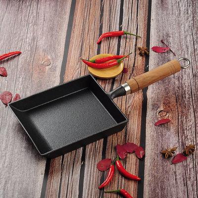 日式玉子烧锅厚蛋烧鸡蛋卷煎锅方形煎蛋锅无涂层不粘锅铸铁平底锅