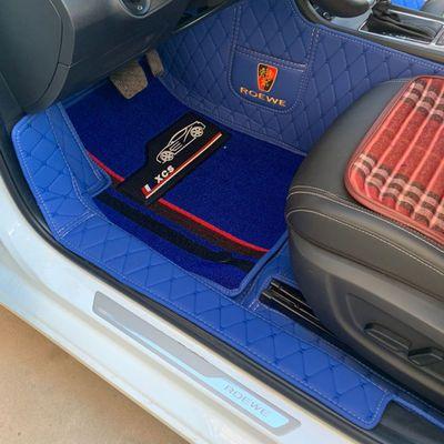 格子纹汽车脚垫全包围 千款车型量车定制定制 包门边五座全套定制