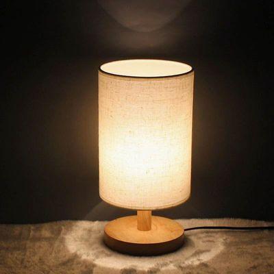 屏幕米家美式北欧明基台灯少女心粉色小台灯小夜专用床头灯美的