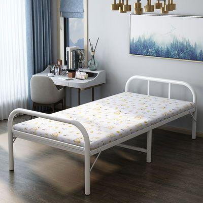 折叠床家用布艺办公椅轻便简易午休床行军床电脑卧室人休夏季摇椅