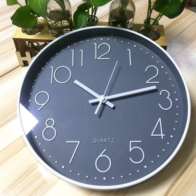 尚艺挂钟客厅创意北欧艺术宏创电子摇摆墙钟日历钟表木质欧美约客