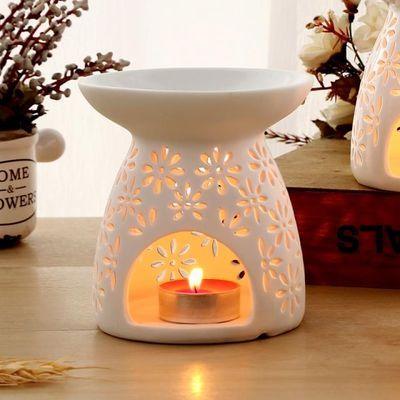 大号香薰灯精油灯陶瓷香薰炉家用美容院蜡烛大容量助眠熏香精油炉