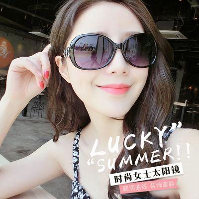2020新款时尚女士太阳眼镜复古大框明星款墨镜学生网红同款太阳镜