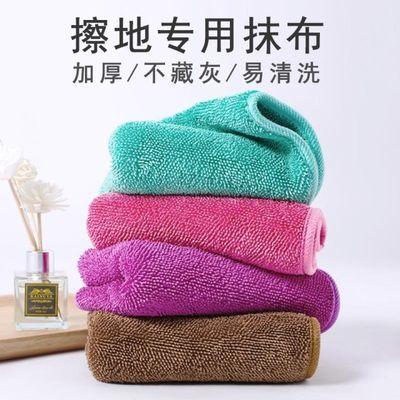 擦地抹布无水印擦地布专用巾家务清洁拖把布拖地布替换布加捻毛巾