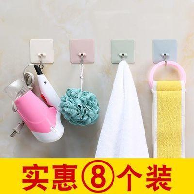 强力粘胶挂钩无痕厨房墙壁粘钩浴室吸盘壁挂钩子门后免钉创意贴钩