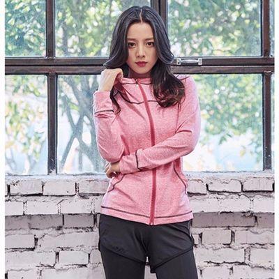 瑜伽服女夏天宽松短袖性感美背运动五件套装跑步健身5件套速干衣