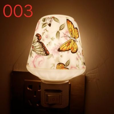 陶瓷香薰炉精油灯蜡烛仿古檀香熏香炉家用居室卧室插电香薰灯多色