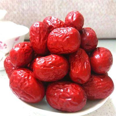 新疆特产羌若红枣500克新疆红枣零食煲汤煮粥泡水1斤装羌若灰枣