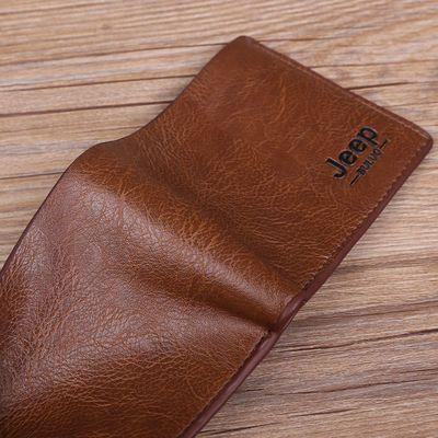 真牛皮钱包袋鼠男士钱包头层牛皮短款钱包长款钱包零钱包加厚