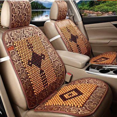木珠汽车坐垫单片夏季透气凉垫珠子座垫小车货夏天单个通用车垫子