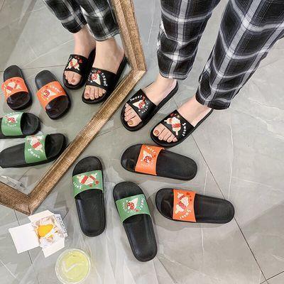 新款拖鞋女夏室内外穿防滑按摩底个性可爱时尚居家百搭一字凉拖鞋