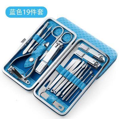 新款修剪指甲刀套装家用修脚美甲工具甲沟脚剪刀钳专用神器