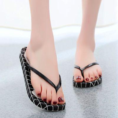 人字拖鞋女夏季新款学生韩版凉拖鞋平底防滑夹脚拖鞋女士时尚外穿