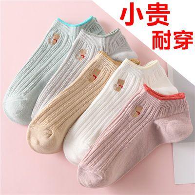袜子女韩版短袜原宿风潮流学生船袜隐形士ins浅口吸汗夏新款棉袜
