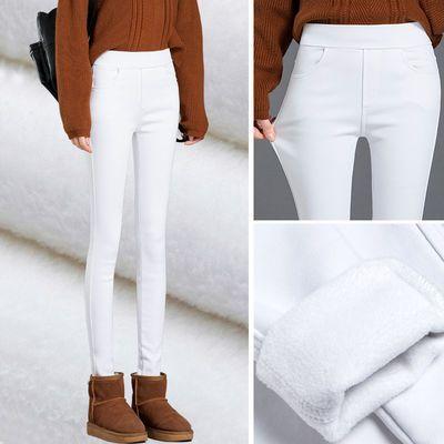 白色裤子女小个子八分薄款打底裤外穿夏季七分小脚九分魔术铅笔裤