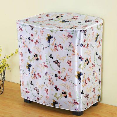 双桶洗衣机罩老式半自动洗衣机套子防水防晒洗衣机防尘罩通用款式