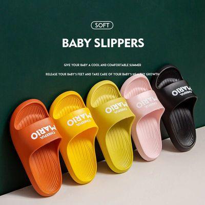 夏男童女童室内拖鞋家用亲子凉拖浴室洗澡防滑软底宝宝儿童凉拖鞋