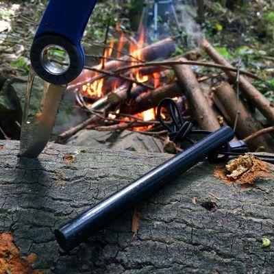 野外生存打火石镁棒大号防水点火棒求生EDC生火装备 户外打火棒