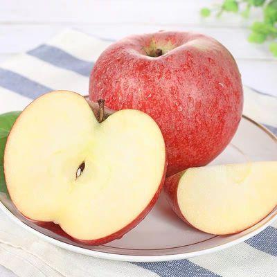 2020夏季鲜果新鲜现货甘肃静宁老树秦冠苹果5/10斤新鲜野生丑水果