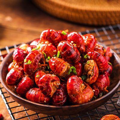 【热销】[买二送一]320g麻辣小龙虾尾即食香辣海鲜熟食非罐装虾球