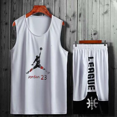 科比詹姆斯哈登篮球服套装男女儿童学生比赛服运动AJ球衣定制印号