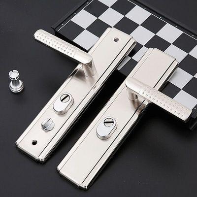 防盗门把手防盗门锁套装加厚通用型锁芯锁体家用大门锁双快三件套