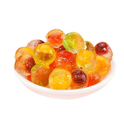 爆浆果汁软糖 混合水果味夹心QQ糖果网红零食结婚喜糖混散装批发