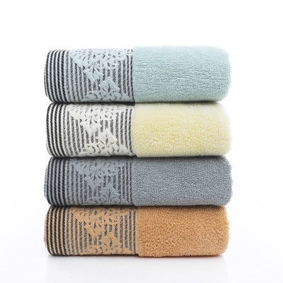 3条装 毛巾纯棉加厚柔软吸水成人儿童家用洗脸洗澡面巾批发回礼品