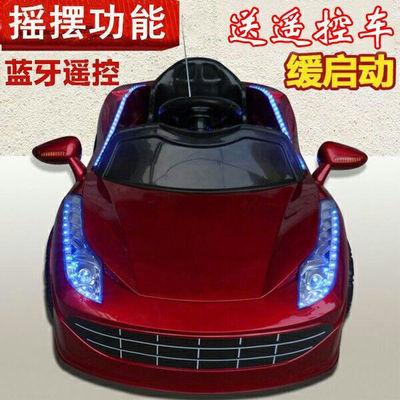 婴儿童电动车四轮1234岁遥控小孩汽车男女孩宝宝玩具车充电可坐人
