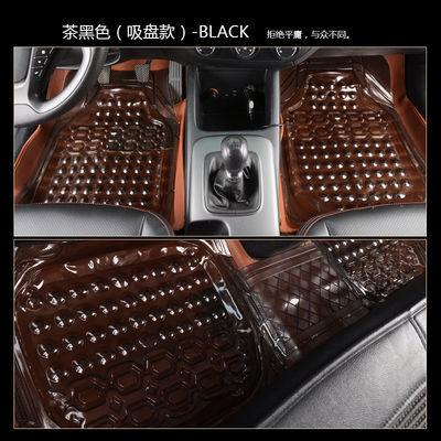 通用型汽车五座脚垫通用易清洗防水四季耐脏乳胶塑料透明PVC脚垫