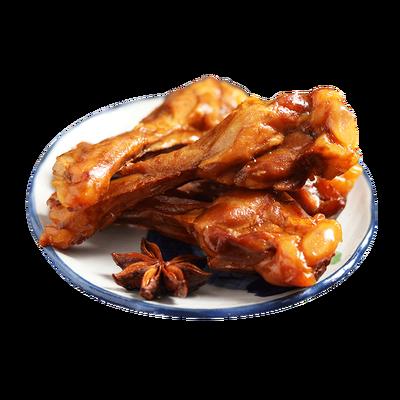 【热卖】20包报春辉手撕烤腿卤味肉类吃的零食鸭腿鸡腿香辣麻辣味