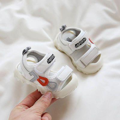 婴儿凉鞋男学步鞋夏季6软底7防滑10包头8个月小童宝宝鞋子女0-1岁