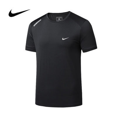 运动短袖t恤男吸汗衣篮球跑步男速干衣服半袖健身服背心冰丝上衣