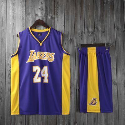 库里詹姆斯篮球服套装儿童成人男女训练运动服科比24马刺10号球衣