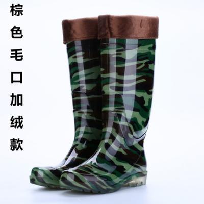雨靴男雨鞋高筒加厚防滑防水鞋工作厨房劳保牛筋底橡胶鞋长中筒